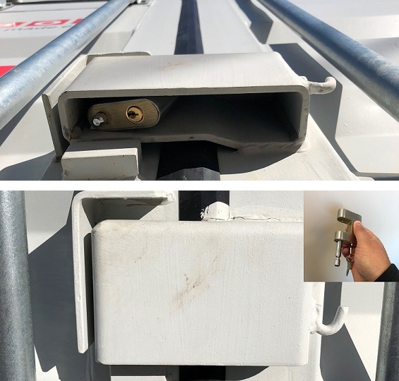 High-Security Container Lock